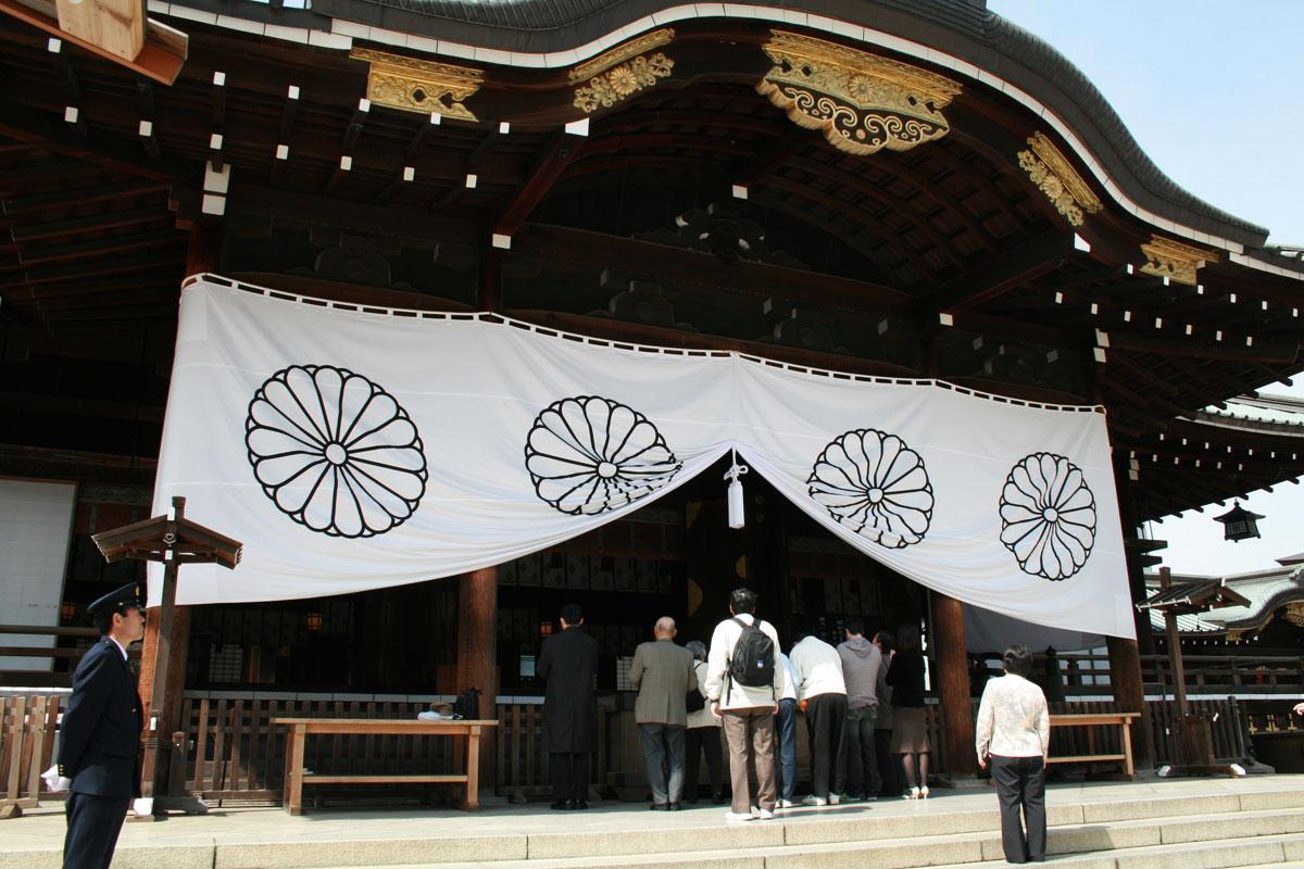 安倍総理が靖国神社を参拝